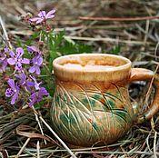 Посуда ручной работы. Ярмарка Мастеров - ручная работа Спелая пшеница Хюгге. Handmade.