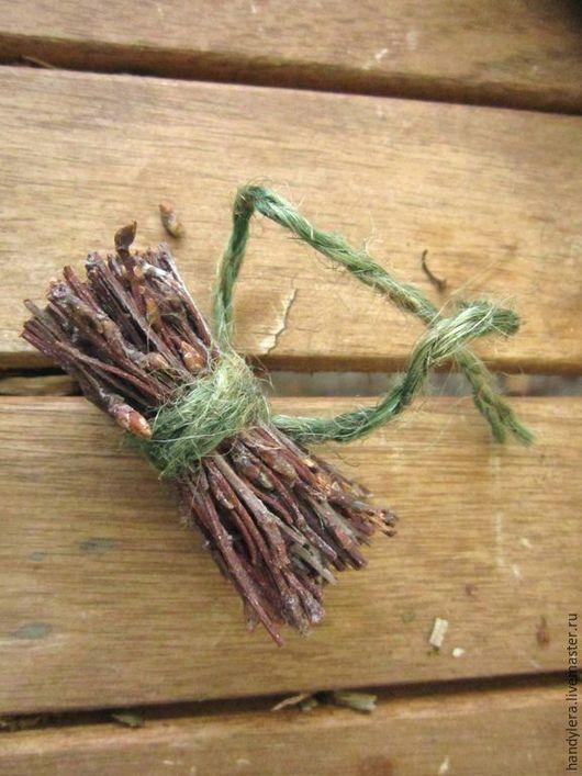 Другие виды рукоделия ручной работы. Ярмарка Мастеров - ручная работа. Купить вязанка березовая миниатюрная. Handmade. Коричневый, дерево