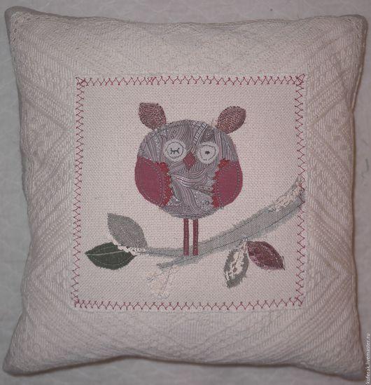 Текстиль, ковры ручной работы. Ярмарка Мастеров - ручная работа. Купить Диванная подушка. Handmade. Бежевый, подушка декоративная