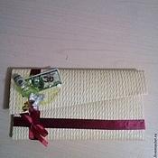 Подарки к праздникам ручной работы. Ярмарка Мастеров - ручная работа конверт ручной работы. Handmade.
