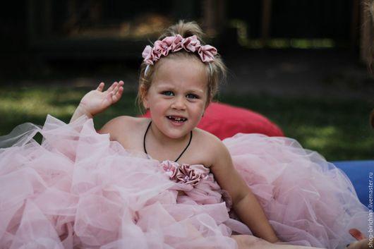 Одежда для девочек, ручной работы. Ярмарка Мастеров - ручная работа. Купить Самое настоящее платье для принцессы. Handmade. Комбинированный, бирикина