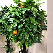 Деревья ручной работы. Ярмарка Мастеров - ручная работа Искусственное дерево Апельсин 180 см. Handmade.