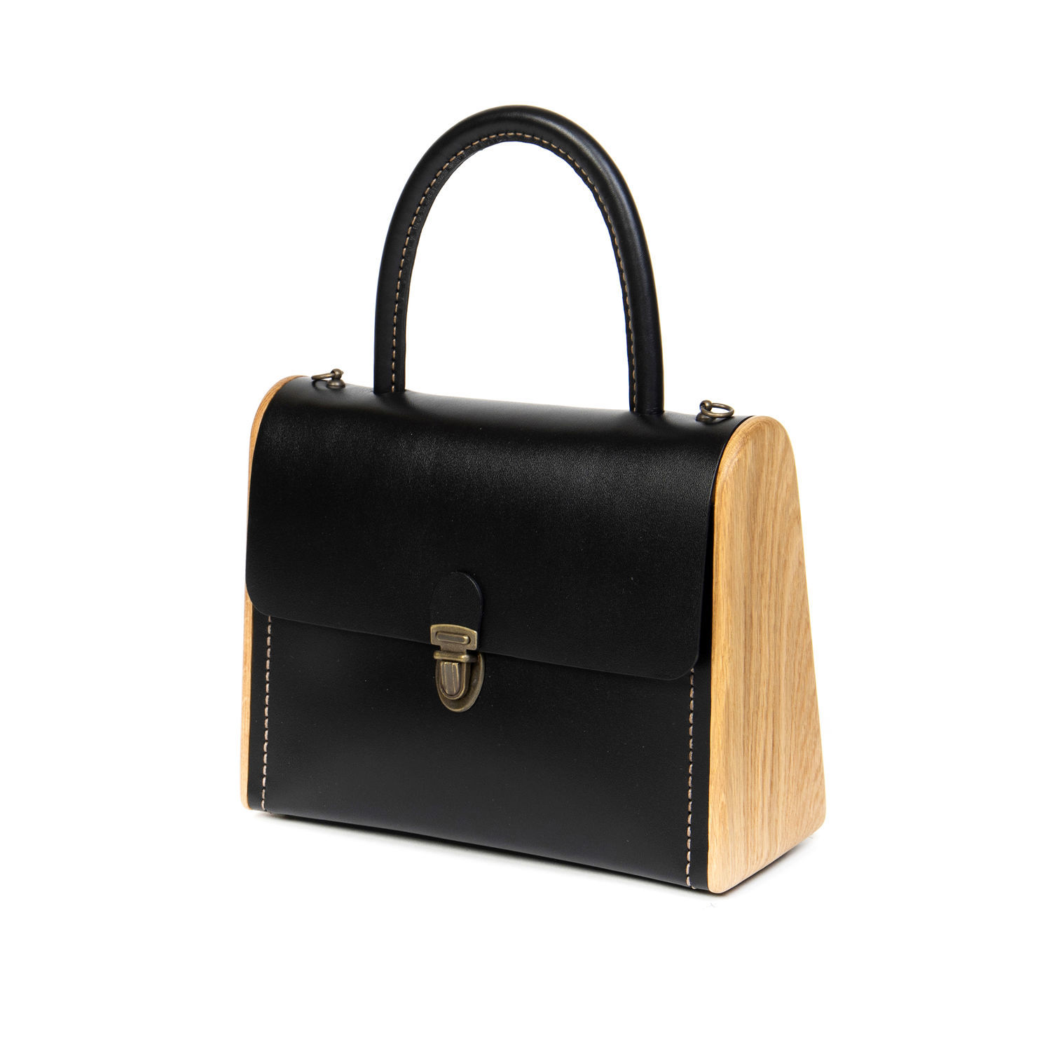 Black women's bag in classic English style MOLLY, Classic Bag, Moscow,  Фото №1