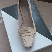Туфли натуральная замша 35