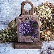 Посуда handmade. Livemaster - original item Set of cutting boards Flower Rhapsody . Decoupage. Handmade.