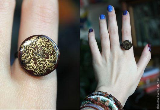 Перстень Листья. Шир. М. А.