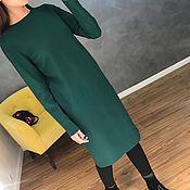 Одежда ручной работы. Ярмарка Мастеров - ручная работа Платье балон зеленое. Handmade.