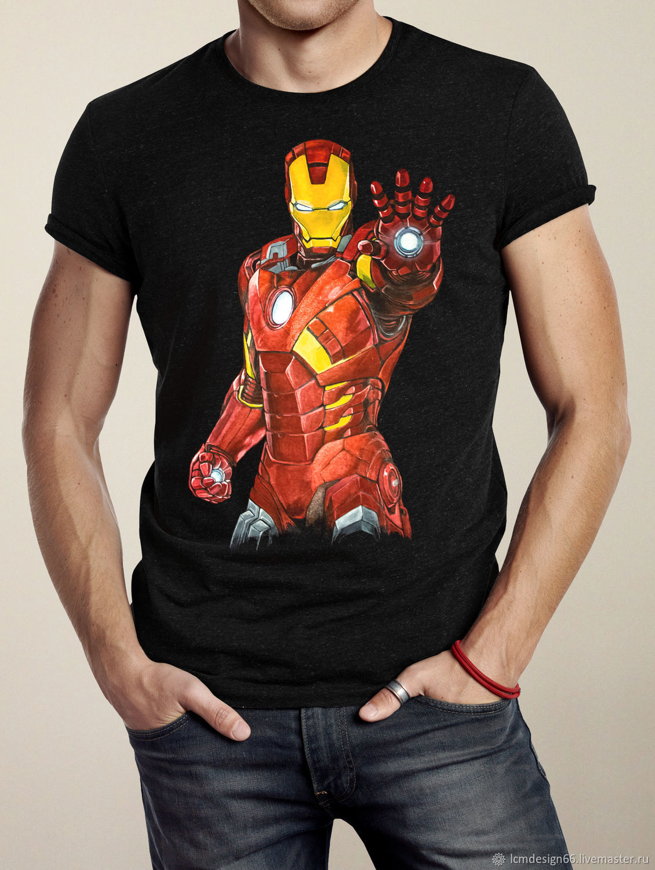 картинки футболка железный человека габариты достигаются счет