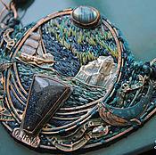 """Украшения ручной работы. Ярмарка Мастеров - ручная работа """"Towards Antarctica""""  колье. Handmade."""