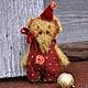 Мишки Тедди ручной работы. Слоня  МиМи (миниатюра - брошка). Пур-Пур (pur-pur). Ярмарка Мастеров. Слоники, брошка