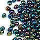 Для украшений ручной работы. Ярмарка Мастеров - ручная работа. Купить Drops 3.4mm DP-455 Сине-зеленый ирис Японский бисер Дропс Миюки. Handmade.
