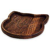 Тарелки ручной работы. Ярмарка Мастеров - ручная работа Тарелки из дерева. Handmade.