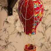 Декор в стиле Тильда ручной работы. Ярмарка Мастеров - ручная работа Воздушный шар (аэростат) для кукол. Handmade.