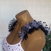 Одежда ручной работы. Ярмарка Мастеров - ручная работа Платье летнее с крыльями. Handmade.