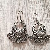 Украшения handmade. Livemaster - original item Tribal earrings. Handmade.