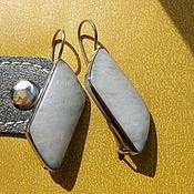 Украшения handmade. Livemaster - original item Earrings Belomorian moon Princess. Handmade.