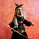 Кукольный театр ручной работы. Ярмарка Мастеров - ручная работа. Купить Баба Яга. Handmade. Авторские куклы, кукла на руку