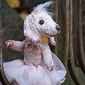 Куклы и игрушки ручной работы. Ярмарка Мастеров - ручная работа Такса Росина-балерина. (Друзья Тедди). Handmade.