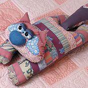 Для дома и интерьера ручной работы. Ярмарка Мастеров - ручная работа Подушка-кот.. Handmade.