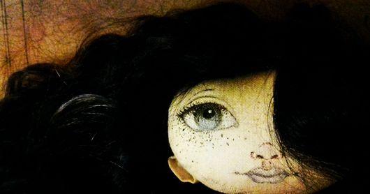"""Коллекционные куклы ручной работы. Ярмарка Мастеров - ручная работа. Купить Кукла текстильная ручной работы """"Ночной мотылек"""". Handmade."""