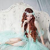 """Одежда ручной работы. Ярмарка Мастеров - ручная работа Будуарное платье """"Нарциссы"""". Handmade."""