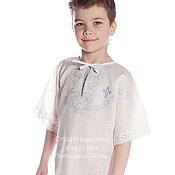Работы для детей, handmade. Livemaster - original item Christening shirt for a large child art. .89. Handmade.