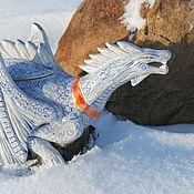 """Посуда ручной работы. Ярмарка Мастеров - ручная работа Заварочный чайник """"Снежный Дракон"""". Handmade."""