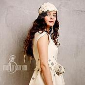 Одежда ручной работы. Ярмарка Мастеров - ручная работа Валяное платье «Secret». Handmade.