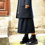 Одежда ручной работы. Ярмарка Мастеров - ручная работа Шерстяной пиджак Pure Black. Handmade.