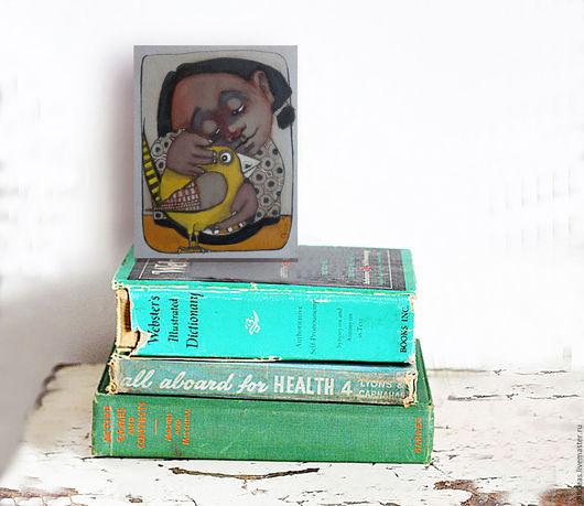 Картины цветов ручной работы. Ярмарка Мастеров - ручная работа. Купить Старые друзья. Handmade. Бежевый, улыбка, холст