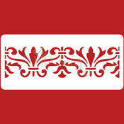 Материалы для творчества ручной работы. Ярмарка Мастеров - ручная работа Трафарет Бордюры Греция-1 210х95мм T122013. Handmade.