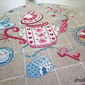 Для дома и интерьера handmade. Livemaster - original item Warmer for teapot hand made embroidery tea Time. Handmade.
