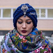 Аксессуары ручной работы. Ярмарка Мастеров - ручная работа Чалма из 100% перуанской шерсти. Handmade.