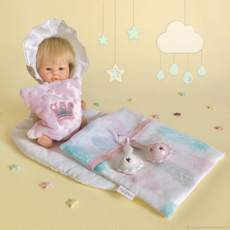 Постелька для куклы, Кукольные домики, Москва,  Фото №1