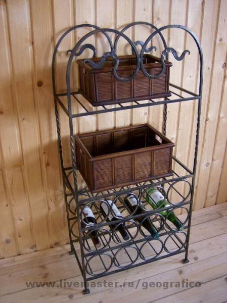 Стойка для винных бутылок, Кухонная мебель, Волгоград,  Фото №1