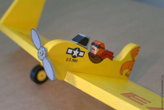"""Детская ручной работы. Ярмарка Мастеров - ручная работа. Купить Полочка -самолёт """"EAGLE"""". Handmade. Полка"""