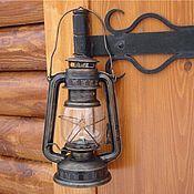 """Для дома и интерьера ручной работы. Ярмарка Мастеров - ручная работа Керосиновая лампа """"Темная ночь"""". Handmade."""