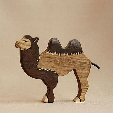 Деревянная игрушка - Верблюд