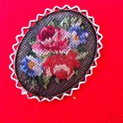 Vintage brooches handmade. Livemaster - original item Vintage brooch (handmade), Austria. Handmade.