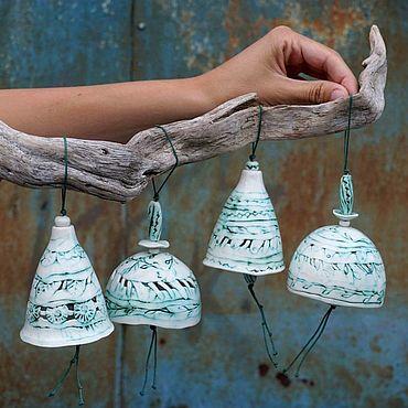 """Сувениры и подарки ручной работы. Ярмарка Мастеров - ручная работа Колокольчик """"Grace"""". Handmade."""