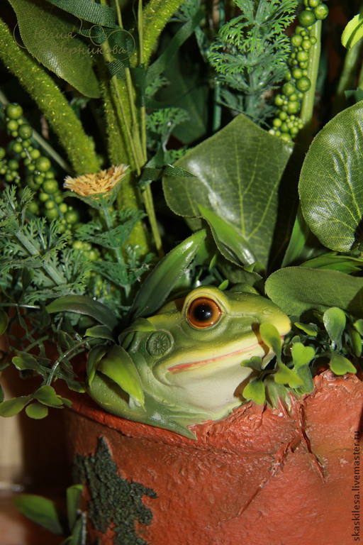 The frog may be but the Princess. country house, Composition, Novosibirsk,  Фото №1