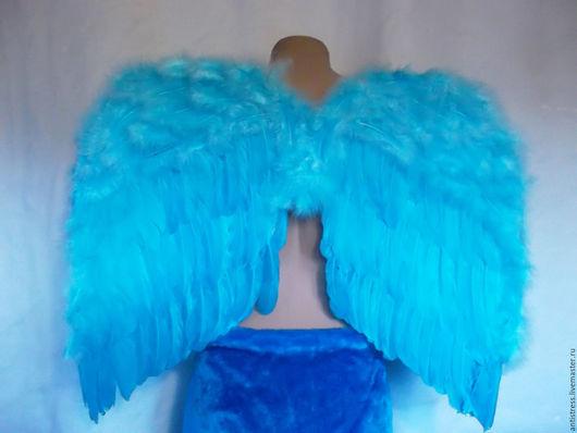 Крылышки -аксессуар для фотосессий и новогодних костюмов.