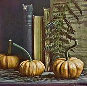 Картины и панно handmade. Livemaster - original item The gifts of autumn. Pumpkin. Handmade.