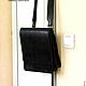Мужские сумки ручной работы. Именная мужская сумка, кожаная. AV-Leather (Andrey Volovikov). Ярмарка Мастеров. подарок