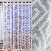 Для дома и интерьера handmade. Livemaster - original item Tulle modern, Geometry 2. Handmade.