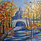 Картины и панно ручной работы. Ярмарка Мастеров - ручная работа Разноцветная осень. Handmade.