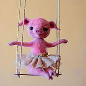 Куклы и игрушки ручной работы. Ярмарка Мастеров - ручная работа мисс Пигги. Handmade.