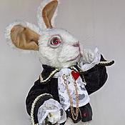 Мягкие игрушки ручной работы. Ярмарка Мастеров - ручная работа Белый Кролик! разные. Handmade.