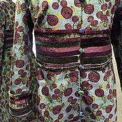 Одежда ручной работы. Ярмарка Мастеров - ручная работа Пальто с декором. Handmade.