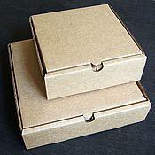 """Материалы для творчества ручной работы. Ярмарка Мастеров - ручная работа коробка """"Простая-2"""" 16 х 16.5 х 5.5 см. Handmade."""